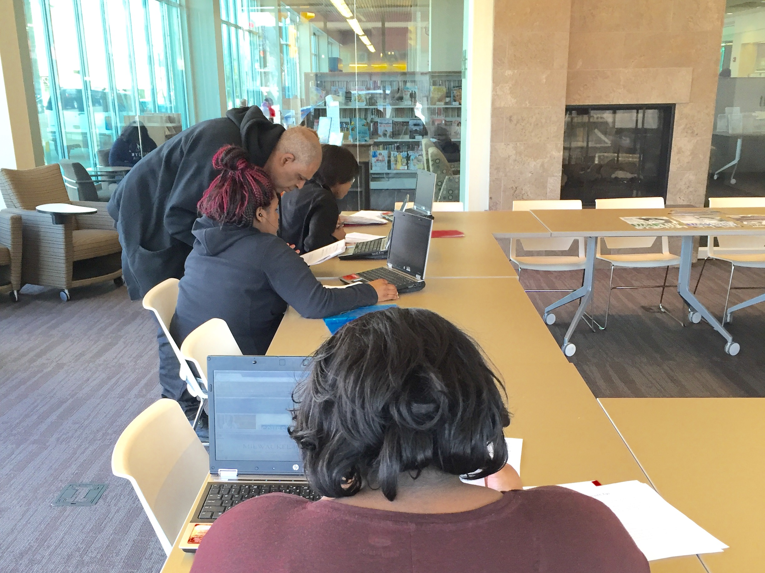 teen job workshop at villard square branch middot mpl if you re not in this photo it means you missed the teen job workshop today at villard square branch don t panic there are several more chances to check