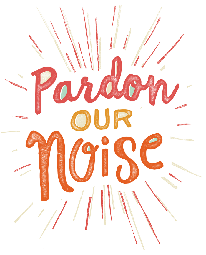 Pardon our Noise