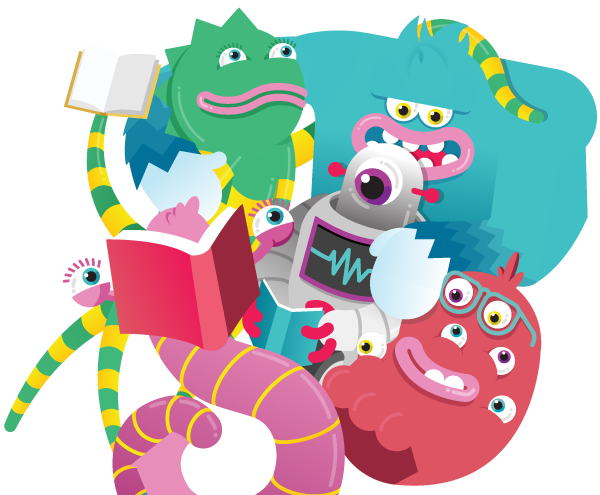 super reading monster