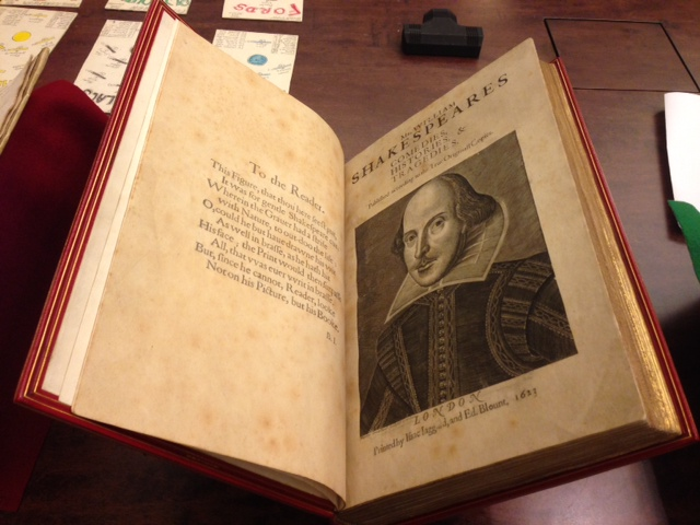 Shakespeare - first folio