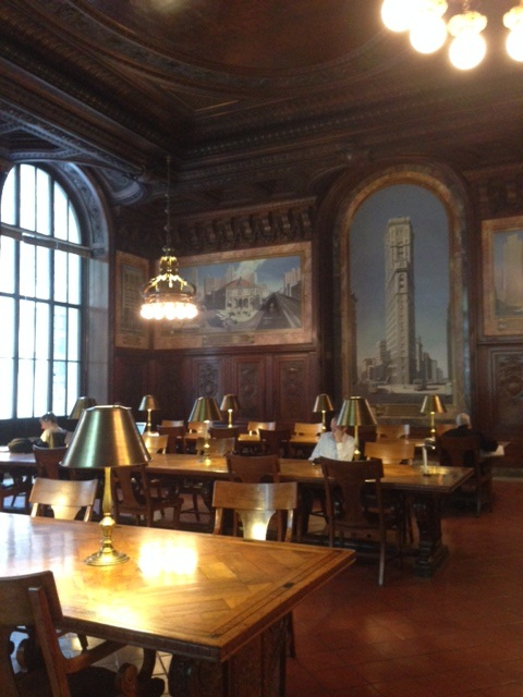 NYPL Periodicals Reading Room