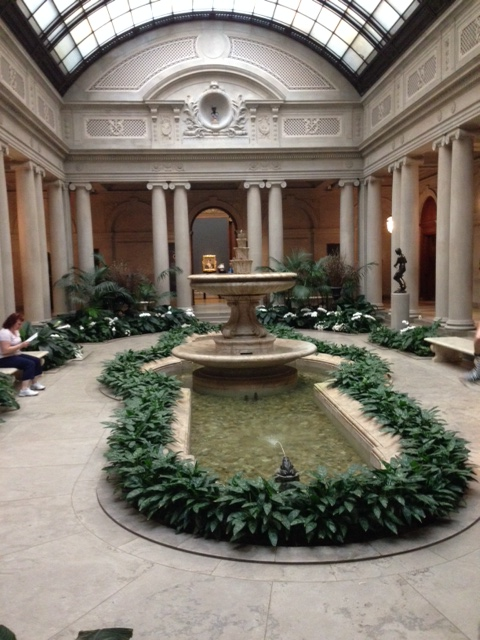 Courtyard at the Frick