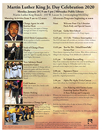 Milwaukee Public Library MLK Celebration @ MLK Library  | Johnson City | Tennessee | United States