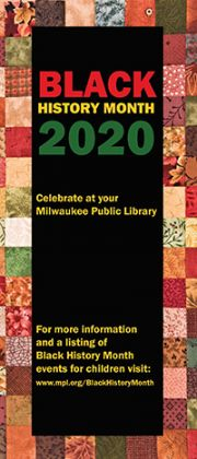 2020 Black History Month Brochure