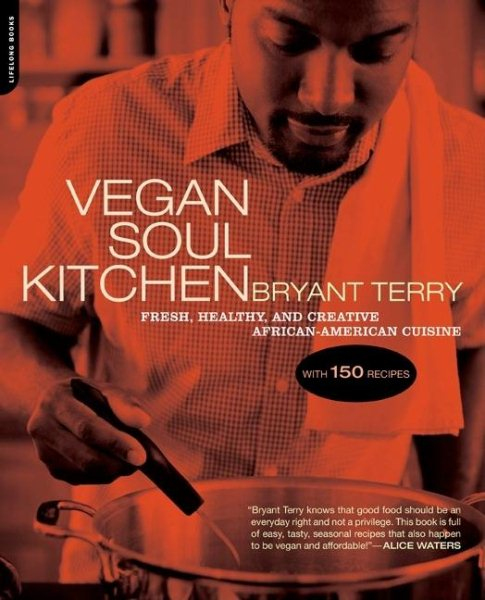 Picture of Vegan Soul Kitchen cookbook cover
